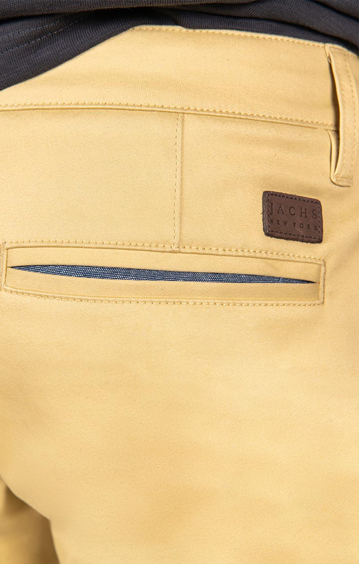Wheat Straight Fit Stretch Bowie Chino - jachs