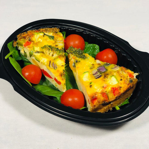 Breakfast - Frittata with Spinach & Tomato-diet meals Peterborough-meal prep Peterborough-Eat Prepped