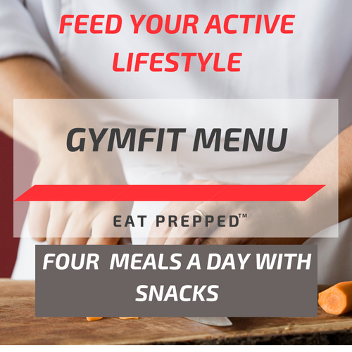 Gym Fit Menu - Four Meals / Day
