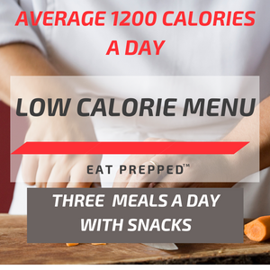 Low Calorie Menu - Three Meals / Day