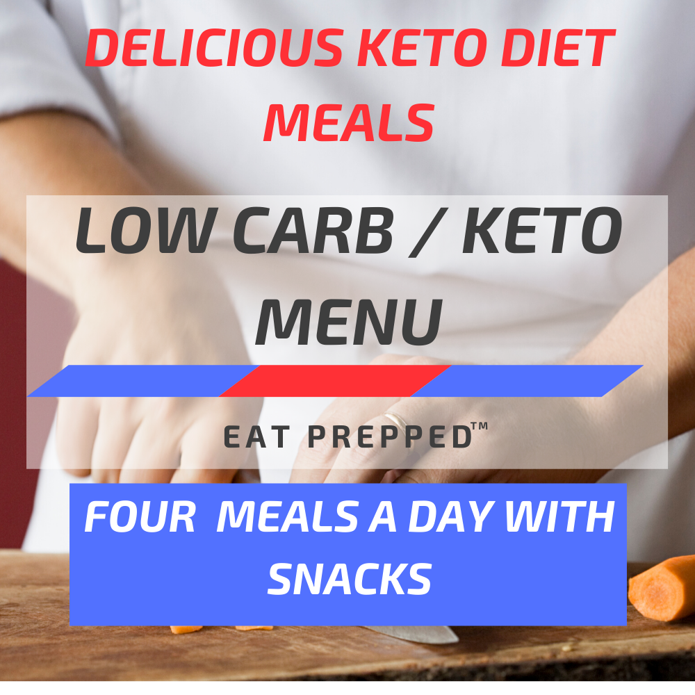Keto Weight Loss Menu - Four Meals A Day