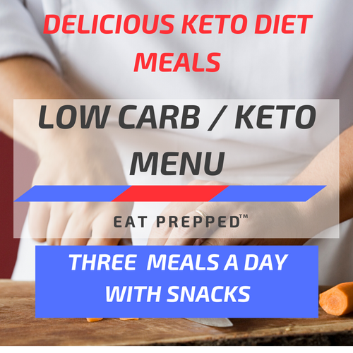 Keto Weight Loss Menu - Three Meals A Day