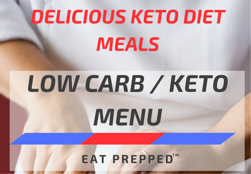 Keto Weight Loss Menu - Two Meals A Day (Lunch & Dinner)