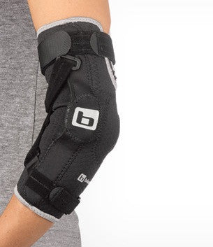 Hyper-Extension Hinged Elbow Brace