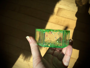 Green Crystal box