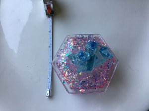 Pink/Blue Crystal Box