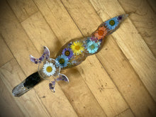 Load image into Gallery viewer, Deluxe Namaste Flower Ice Dagger/Athame