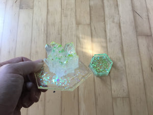 Green short Crystal Box