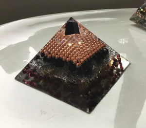 Small Copper Tourmaline Pyramid