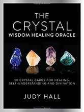 Load image into Gallery viewer, Crystal Wisdom Healing Oracle: 50 Oracle Cards for Healing, Self Understanding and Divination