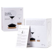 Load image into Gallery viewer, OrgaNice Hourglass Sand Timer - 30 Minute & 5 Minute Timer Set - Improve Productivity & Achieve Goals - Stay Focused & Be More Efficient - Time Management Tool - [Gift-Ready Packaging]
