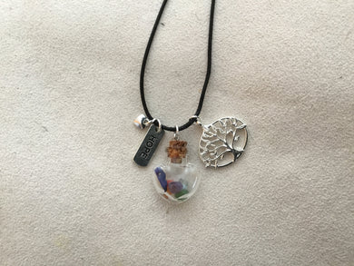 Unique Customized Reiki Session Necklace