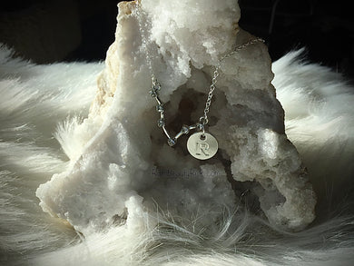 Star sign Initial Necklace