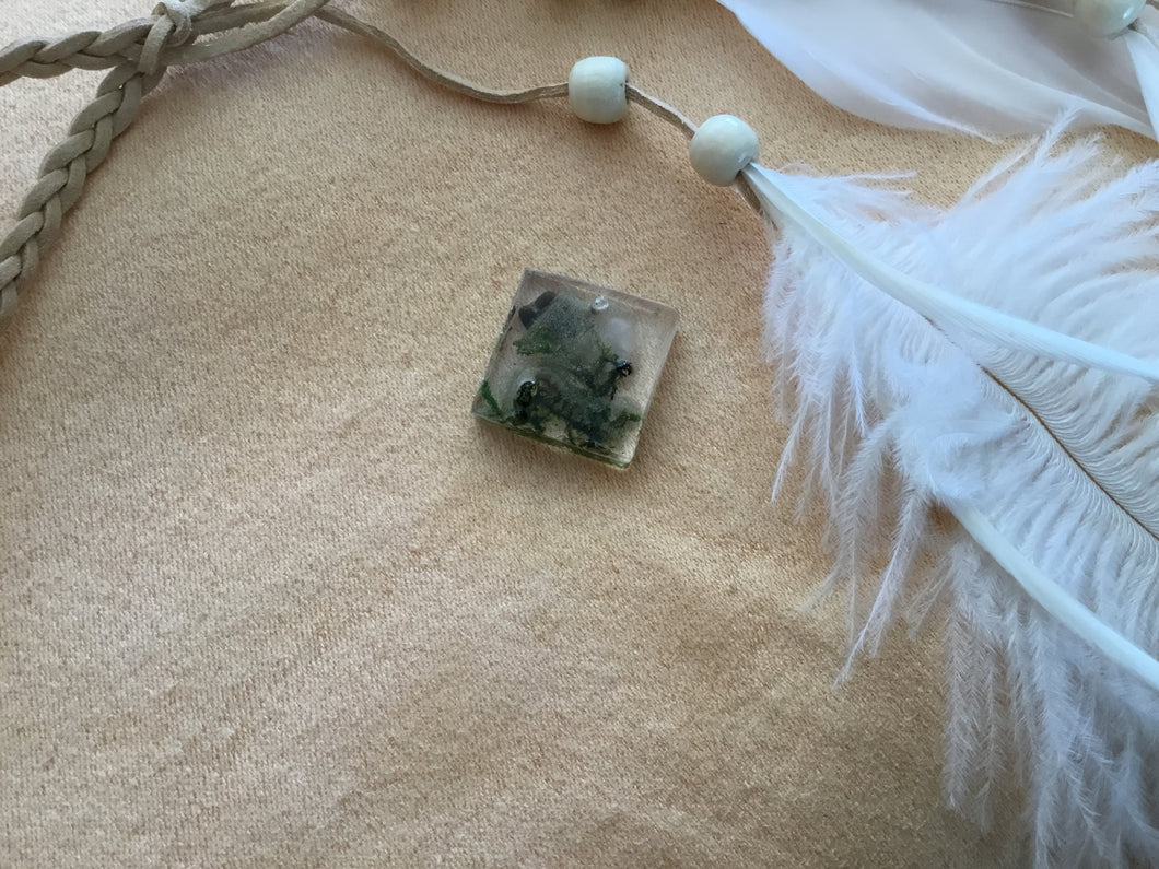 Square Magick weed charm