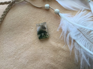 Rectangle Magick weed charm