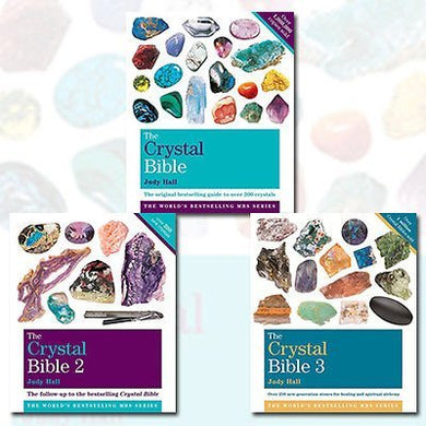 The Crystal Bible Volume 1-3 3 Books Bundle Judy Hall Collection - Godsfield Bibles by Judy Hall (2016-11-09)