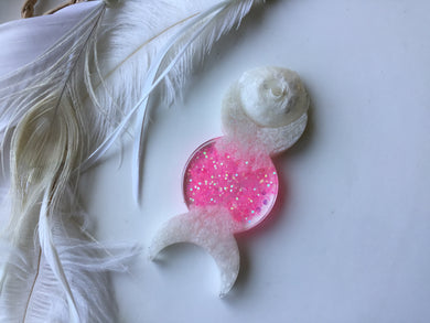 Pink Goddess Incense Holder