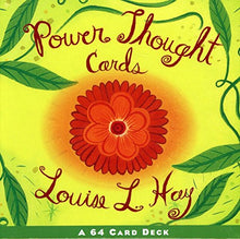 Load image into Gallery viewer, Power Thought Cards: A 64 Card Deck (Box Set)