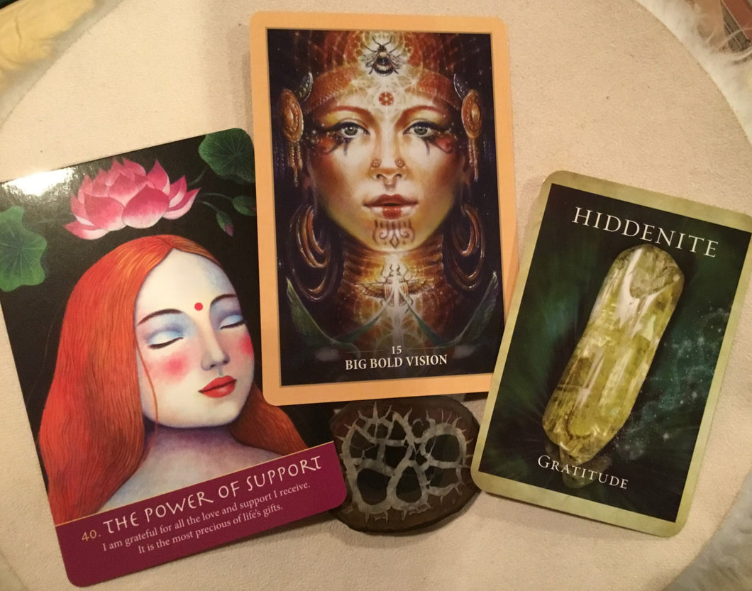 Full Oracle card Reading