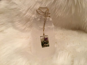 Magick weed necklace