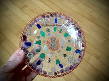 Load image into Gallery viewer, Copper Hamsa Plate