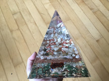Load image into Gallery viewer, Large Silver Fluorite Pyramid