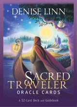 Load image into Gallery viewer, Sacred Traveler Oracle Cards: A 52-Card Deck and Guidebook