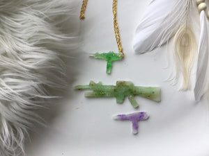 Glow Blaster pendant necklace