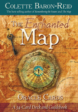 Load image into Gallery viewer, The Enchanted Map Oracle Cards