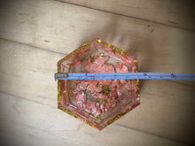 Load image into Gallery viewer, Copper Crystal Hexagon jar