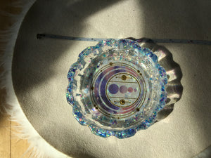 Sparkle Blue trinket bowl
