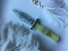 Load image into Gallery viewer, Glow in the dark Hope Ice dagger/Athame