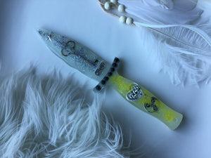 Glow in the dark Hope Ice dagger/Athame
