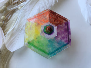 Rainbow Trinket Box