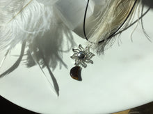 Load image into Gallery viewer, Tiger Eye sun/moon necklace