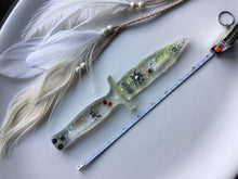 Load image into Gallery viewer, Miracle Selenite Sun Ice Dagger/Athame