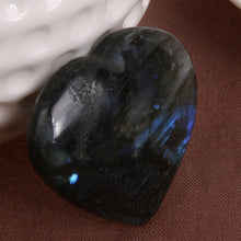 Load image into Gallery viewer, Heart Shape Labradorite Gemstone Pendant