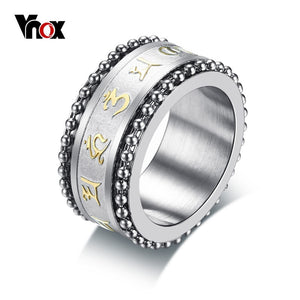 Men's spinner ring