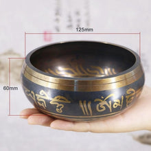 Load image into Gallery viewer, Tibetan Singing Bowl Himalayan Hand Hammered with striker