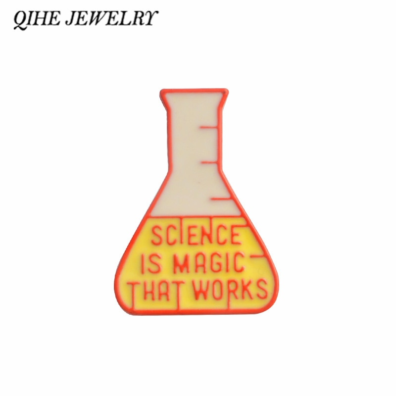 Science Is Magic That Works pin