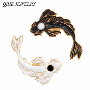 Japanese Koi  Hard Enamel Lapel Pins