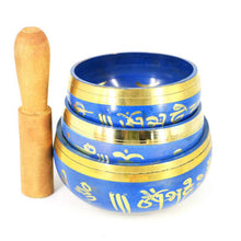 Load image into Gallery viewer, Tibetan Singing Bowl & mallet, cushion