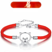 Load image into Gallery viewer, Pig Red Rope Bracelet