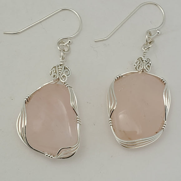 Rose Quartz Freeform  (10045)