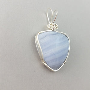 Blue Lacy Agate (007)