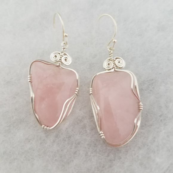 Rose Quartz Freeform  (10016)