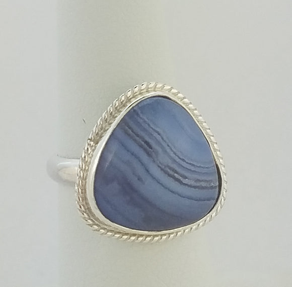 Blue Lacy Agate (40031)