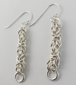 Byzantine Pattern Earrings (50009)