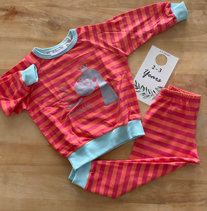 SALE - Dino Girl Set, Age 2-3