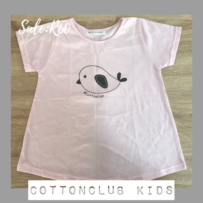 SALE ITEM - BIRD T-SHIRT - AGE 5-6